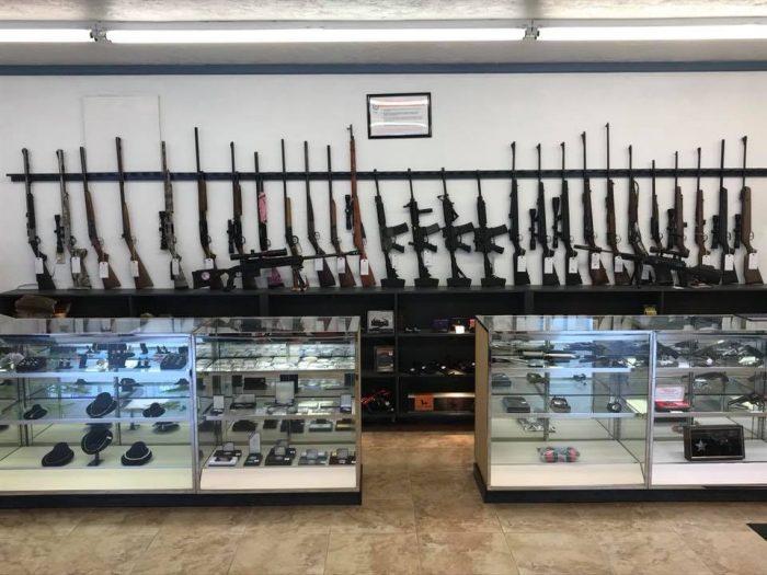 handguns, rifles, shotguns, pistols and more
